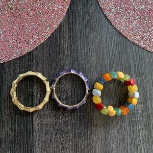 Jewelry - 3 NEW bracelets - BUNDLE!
